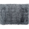 Koberec, bílo-černá, 170x240, Vilan