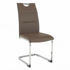 Jídelní židle, hnědá, TOSENA