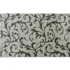 Koberec, krémová / šedý vzor, 160x235, GABBY