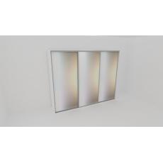 Nábytek Mikulík Vranovice FLEXI 3 300 3x zrcadlo barva dekor dřeva Dekor LTD