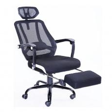Kancelářská židle, černá síťka / černá, SIDRO
