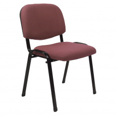 Kancelářská židle, červenohnědá, ISO 2 NEW