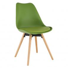 Židle, olivová / buk, Semer NEW