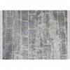 Koberec, šedá / vzor cihla, 80x200, MURO