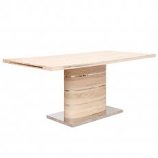 Jídelní stůl, MDF, dub sonoma, AMAR
