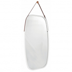 Zrcadlo, bambus/bílá, LEMI 3