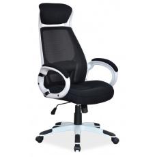 Kancelářské křeslo Q409 bílo - černé