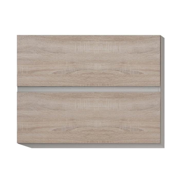 Skříňka horní dvoudveřová, dub sonoma, LINE