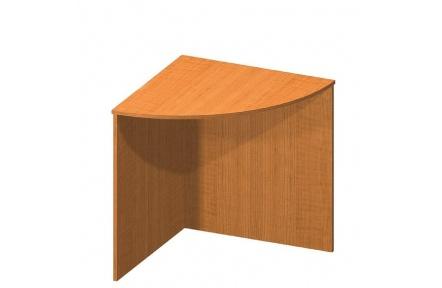 Rohový stůl, črešňa, TEMPO ASISTENT NEW 024
