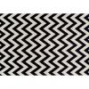 Koberec, slonovinová / tmavě šedá, 67x120, ADISA