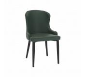 Jídelní židle, zelená/černá, SIRENA