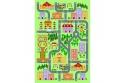 Koberec, vícebarevný, 100x150, EBEL