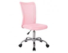 Kancelářská židle, růžová, IDORO