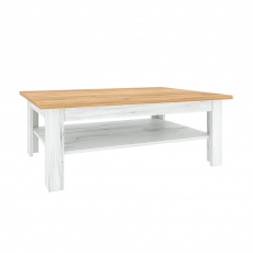 Konferenční stolek T2, dub craft zlatý / dub craft bílý, SUDBURY