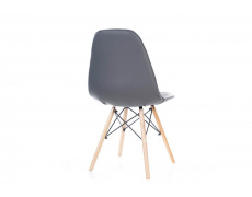 Jídelní židle AXEL PU šedá