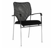 Zasedací židle, černá, UMUT