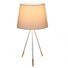 Stolní lampa, bílá, JADE TYP 5