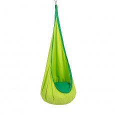 Závěsné houpací křeslo, zelená, SIESTA TYP 1