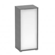 Skříňka, grafit/bílá, RIOMA NEW TYP 10