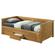Rozkládací postel, dub, Goreta
