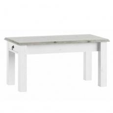 Konferenční stolek, bílá, LIONA  LM 97