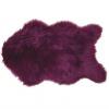 Umělá kožešina, fialová, 60x90, EBONY TYP 8