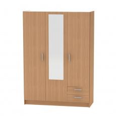3-dveřová skříň, buk, BETTY 7 BE07-001-00