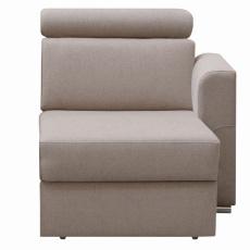 1-sed 1 1B P na objednávku k luxusní sedací soupravě, béžová, pravý, MARIETA