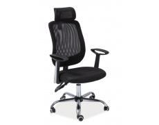 Kancelářská židle Q118 černá