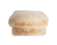 Kožešinová deka, béžová, 150x180, RABITA TYP 2