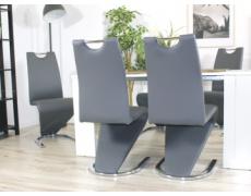 Jídelní židle H090 šedá
