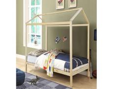 Montessori postel, borovicové dřevo, přírodní, ATIMAD