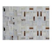 Luxusní koberec, pravá kůže, 170x240, KOŽA typ 1