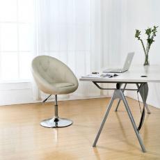 Konferenční židle C881 krémové