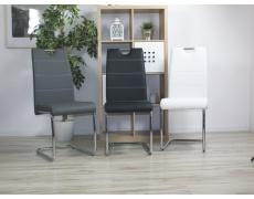 Jídelní židle H666 šedá