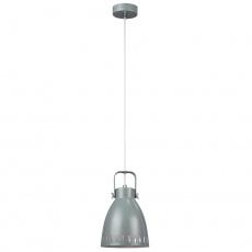 Visící lampa, šedá / kov, AIDEN typ3