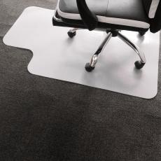 Ochranná podložka pod židli, mléčná, 90x120 cm, 1,8 mm, ELLIE NEW TYP 9