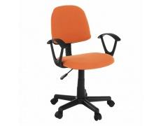 Kancelářská židle, oranžová / černá, TAMSON