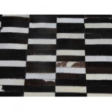 Luxusní koberec, pravá kůže, 69x140, KŮŽE TYP 6