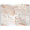 Koberec, béžová / krémová / bílá / vzor, 80x200, RENOX TYP 2