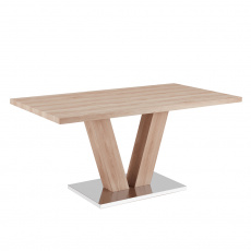 Jídelní stůl, světlý dub, HESTON