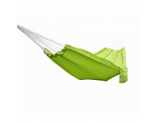 Houpací závěsná síť, zelená, KIMBO - single