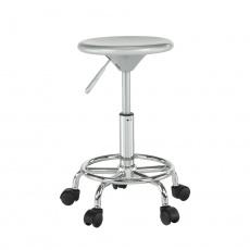 Židle, stříbrná/chrom, MABEL 3 NEW