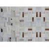 Luxusní koberec, pravá kůže, 120x180, KOŽA typ1