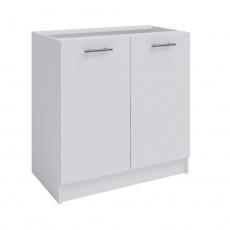 Spodní dvoudveřová skříňka, bílá, FABIANA S80