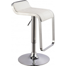 Barová židle C621 bílá