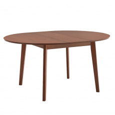 Jídelní stůl, rozkládací, buk merlot, ALTON