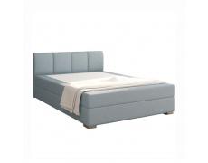 Boxpringová postel 120x200, mentolová, RIANA KOMFORT