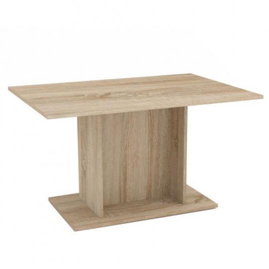 Jídelní stůl, dub sonoma, MODERN