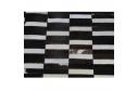 Luxusní koberec, pravá kůže, 171x240, KŮŽE TYP 6